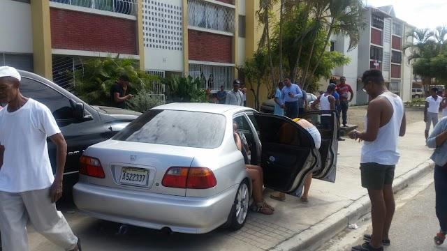 Accidente carro perdió control San Juan