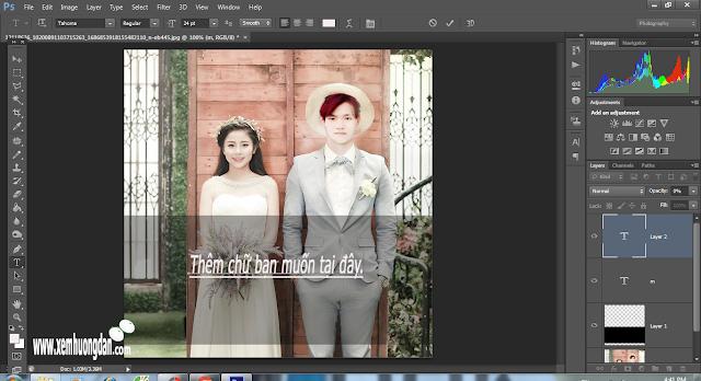 Hướng dẫn tạo khung trong suốt trong photoshop cs6