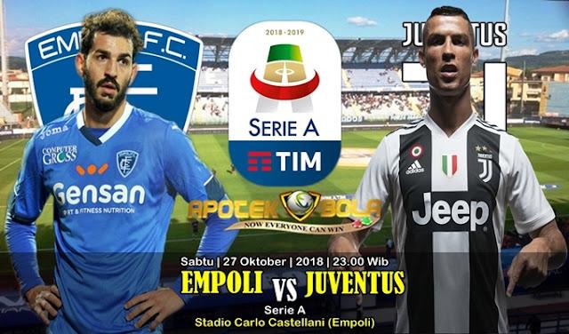 Prediksi Empoli vs Juventus 27 Oktober 2018