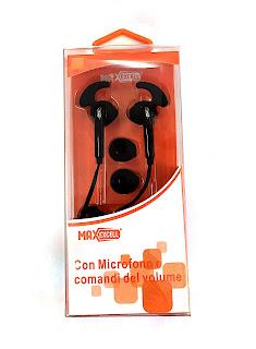 cuffie auricolare microfono maxexcell