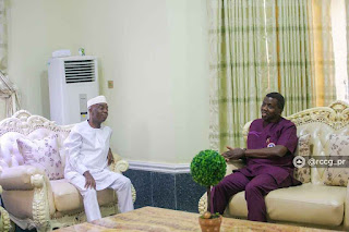 Bishop Oyedepo Visits RCCG Overseer, Pastor Adeboye (Photo)