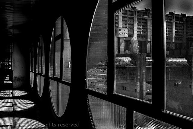 Melara, corridoio, finestre