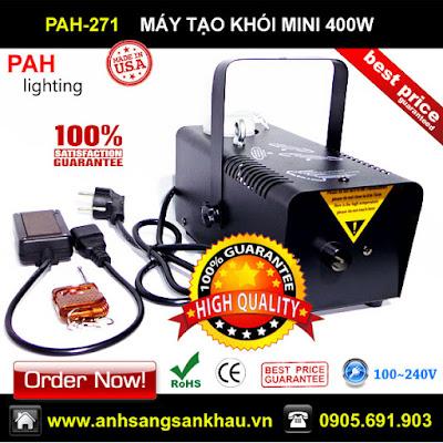 máy tạo khói mini 400w