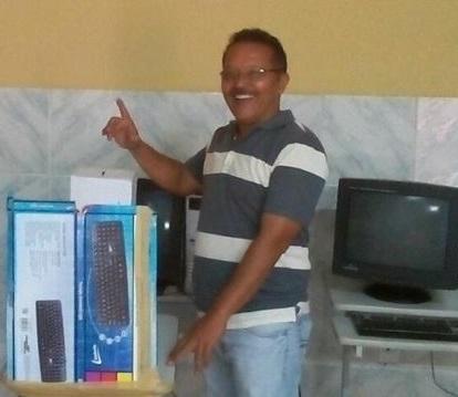 Professor Aglaisio é empossado novo Presidente do Partido dos Trabalhadores de Milagres