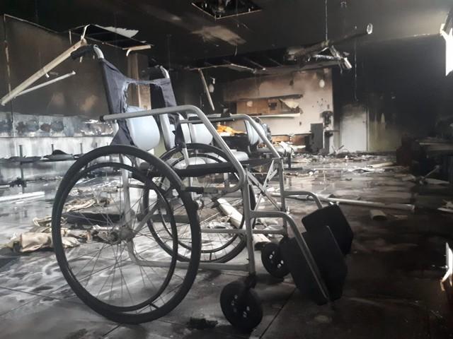 Incêndio atinge hospital em Mossoró; Corpo de Bombeiros suspeita de ação criminosa