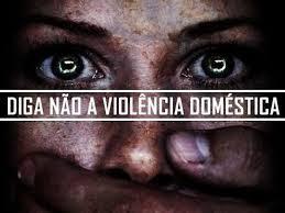 Violência doméstica é a violência, explícita