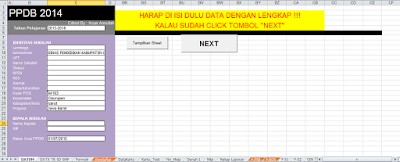 DOWNLOAD Aplikasi PPDB dengan Test 2014 revisi Edit By Ihsan Amrulloh