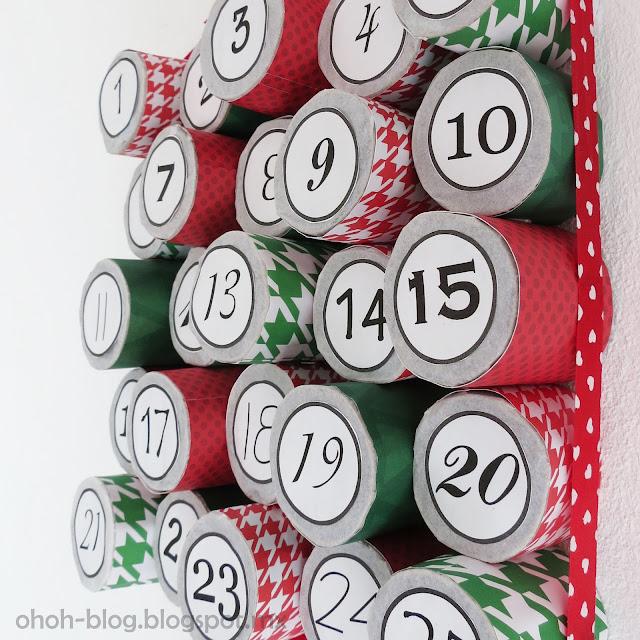 Advent calendar / Calendario navideño