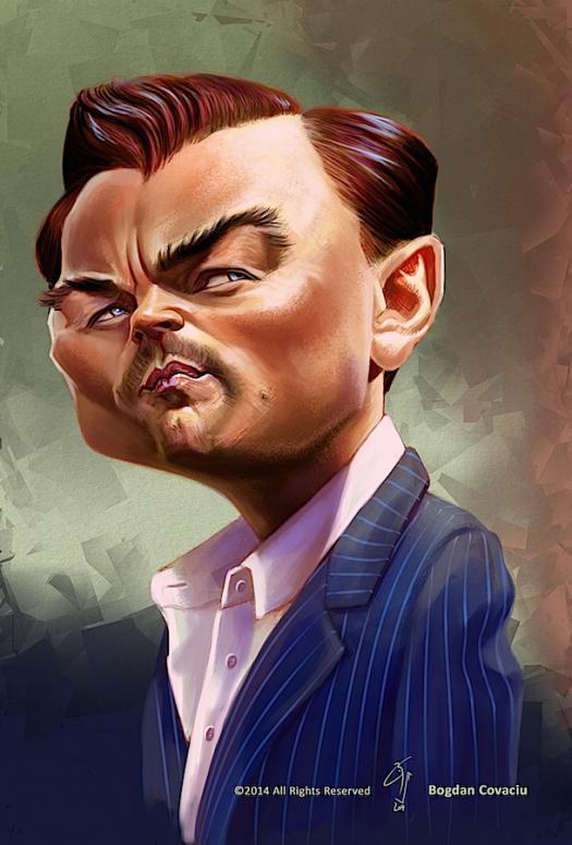 Leo DiCaprio por Bogdan Covaciu