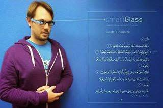aplikasi mushaf Al Quran google glass