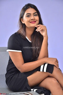 Actress Neha Deshpandey in Black Short Dress ~  Exclusive 007.jpg