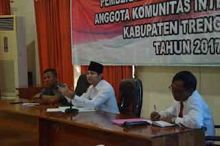 Wabup Arifin Hadiri Rapat Koordinasi Kominda Kabupaten Trenggalek