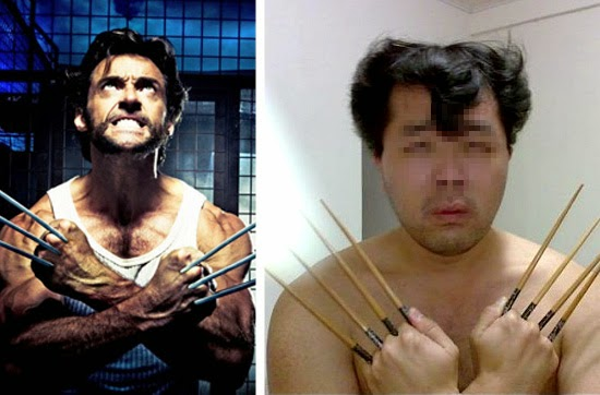 Cosplay Fail- Volverine