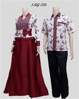 Model Baju Batik Untuk Pesta Pernikahan 2018