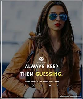 Latest and best attitude quotes for girls