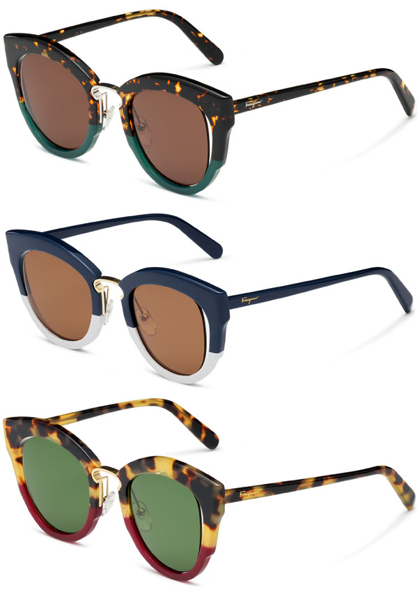 3bbd48322 Brilhos da Moda: Óculos de sol e visão Salvatore Ferragamo