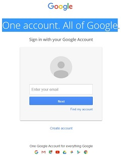 One account. All of Google