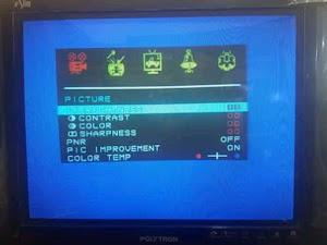 TV Polytron IC Memori (EEPROM) Tidak Menyimpan Data