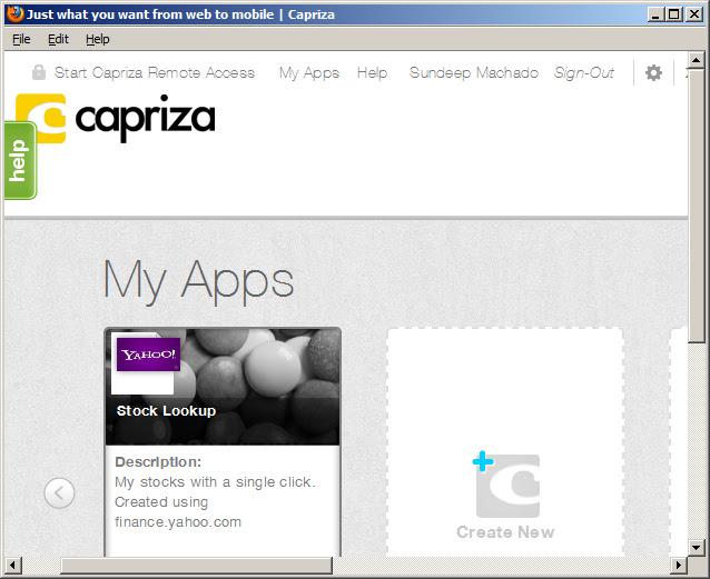 capriza-firefox-plugin