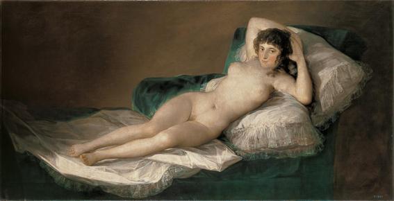 La maja desnuda Goya Museo Prado