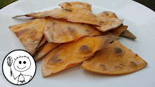 VIDEO: Oil Free, Sweet Potato & Spelt Crisps