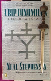 Portada del libro Criptonomicón 1: el código Enigma, de Neal Stephenson