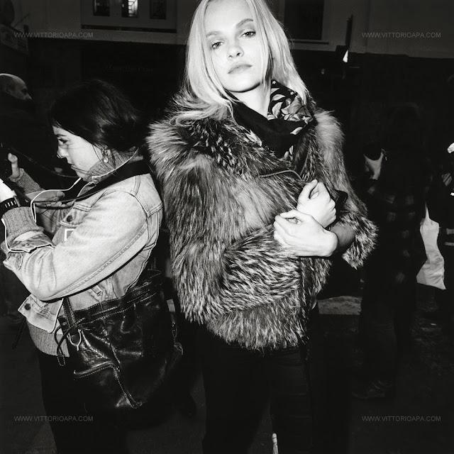 Milan fashion week, Ginta Lapina.