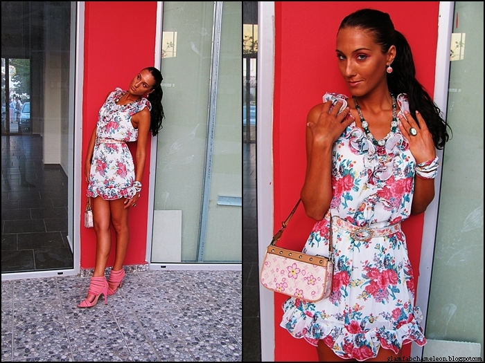 how to wear cute floral prints in summer and look chic