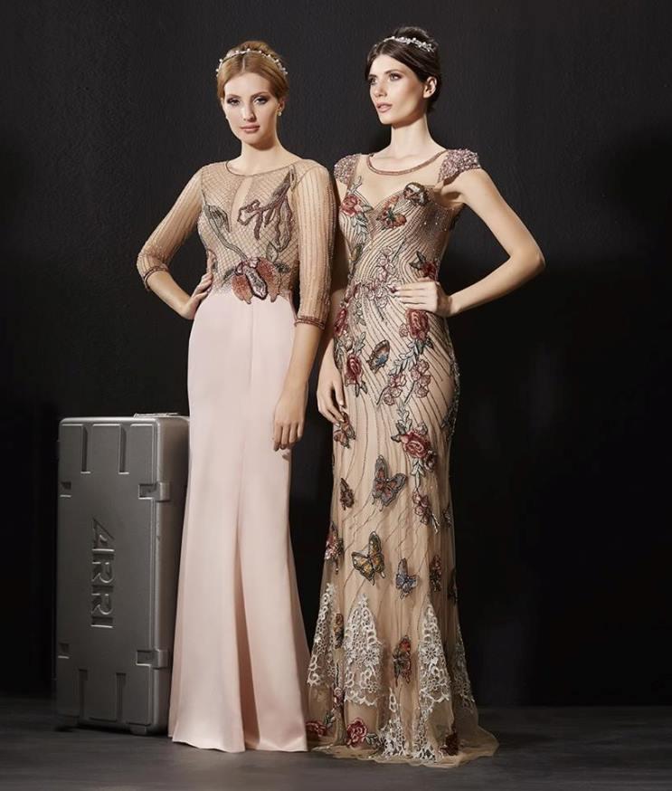 6a92e7a11 ... Patchoulee acertou em cheio nesta coleção cheia de detalhes lindos.  vestido de festa nude rose
