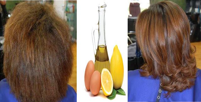 3 وصفات سحرية لتنعيم الشعر الخشن |