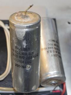 JPG damaged capacitor