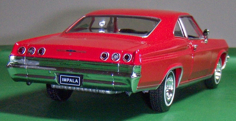 Two Lane Desktop: Welly 1:24 1965 Chevy Impala SS