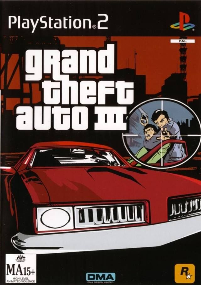 JD's Gaming Blog: The Past and times of Yore: Grand Theft Auto 3