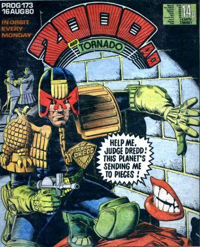 2000 AD Prog 173, Judge Dredd