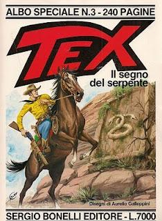 Tex il segno del serpente