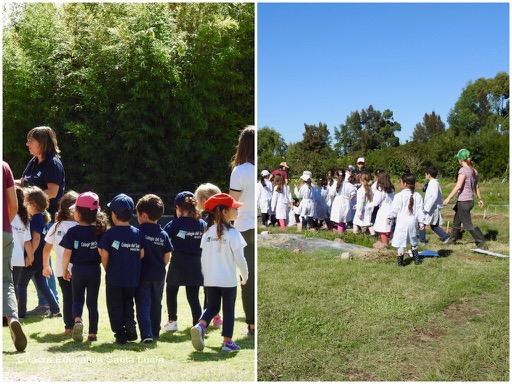 A diario nos visitan grupos escolares de distintas instituciones - Chacra Educativa Santa Lucía