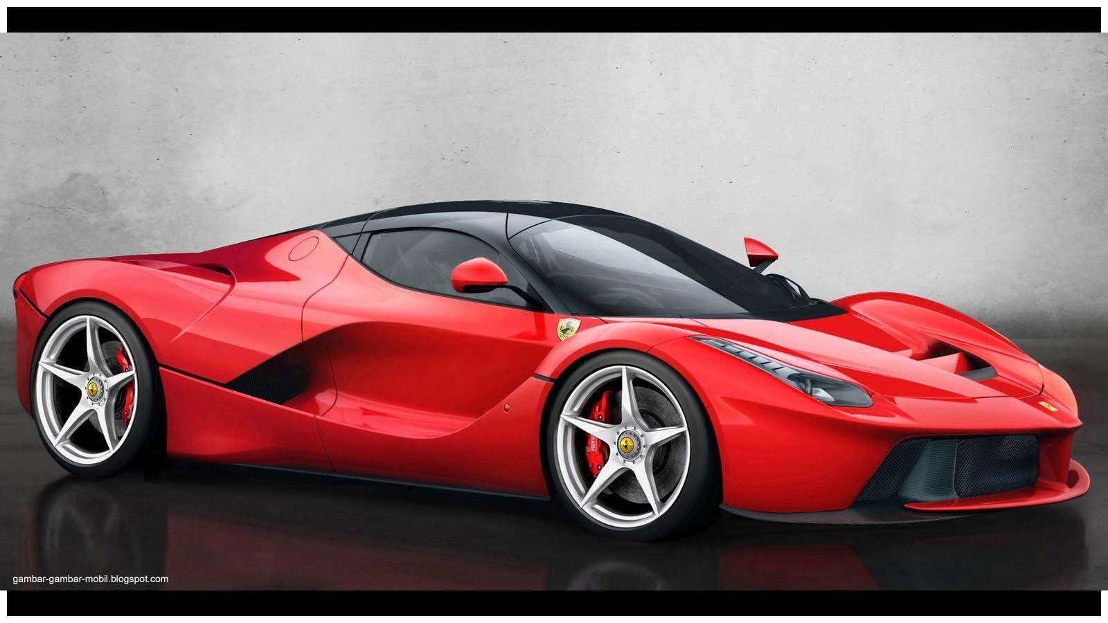 Foto Mobil Sedan Ferrari Modifikasi Mobil