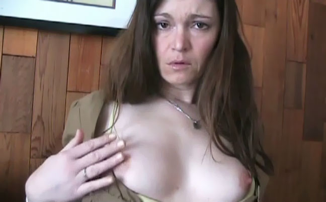 Horny Big Tit Mom Seduces Son