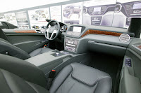 2011 Mercedes-Benz M-Class W 166 Design prototype interior