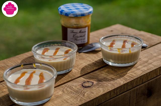 Panna cotta au caramel au beurre salé - recette facile
