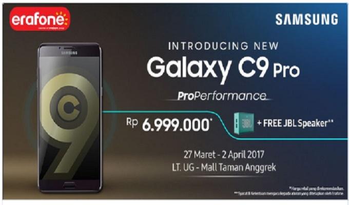 Harga Samsung Galaxy C9 Pro Terjangkau