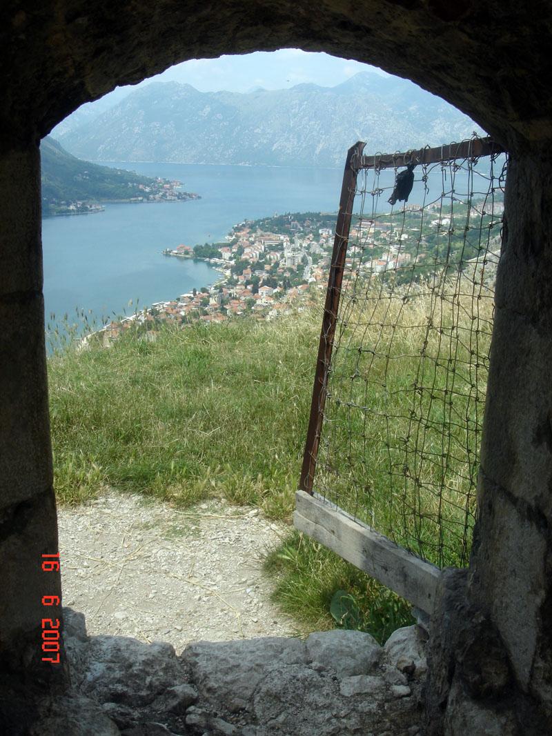 Которская-крепость-Черногория