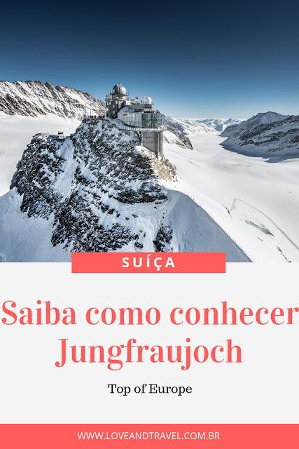 Saiba como conhecer Jungfraujoch na Suíça