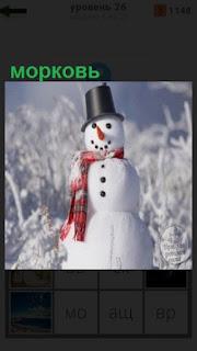 1100 слов вставлена морковь снеговику вместо носа 26 уровень