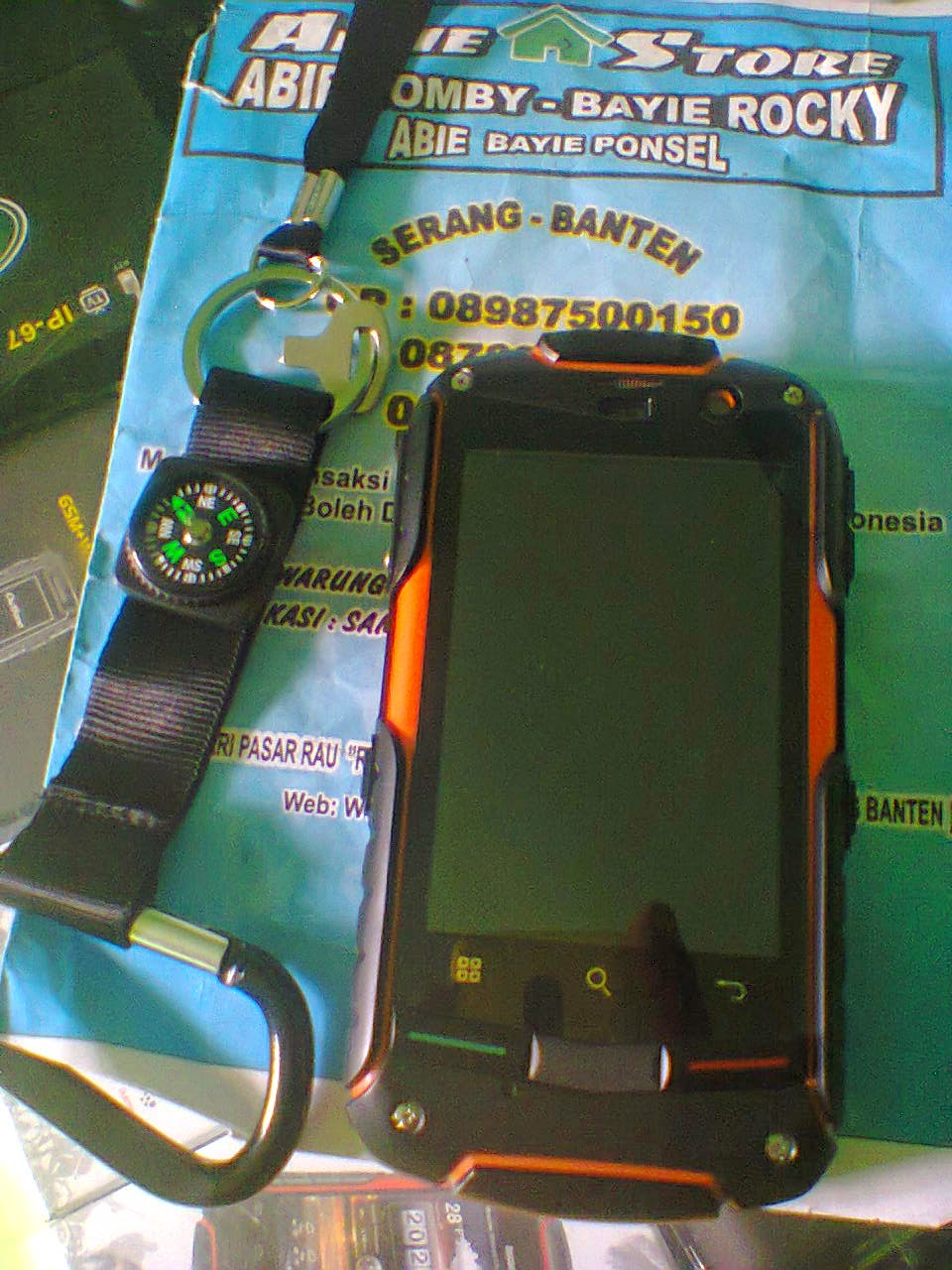 ABIE BAYIE PONSEL - SERANG BANTEN  HP ANDROID WATERPROOF SUPPORT BBM ... 08c12a1afc