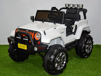 Mobil Mainan Aki Junior ME0905 Wrangler Rubicon Unlimited Jeep