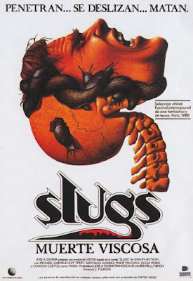 Slugs, muerte viscosa, juan piquer simón, de laurentiis, Shaun Hutson