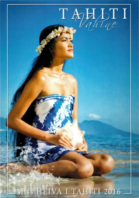 Postcard from Tahiti (French Polynesia)