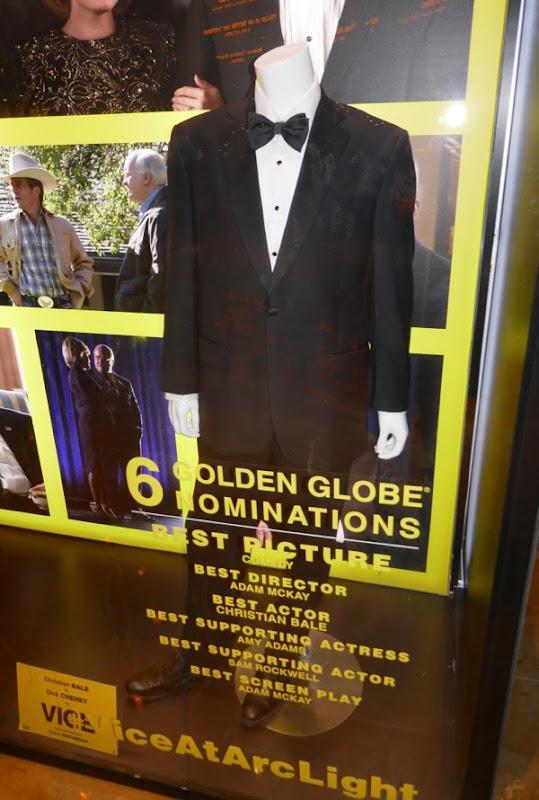 Christian Bale Vice Dick Cheney movie costume