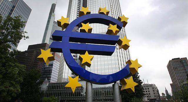 Banco Central Europeu em Frankfurt